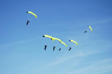 skydiving team 4