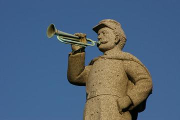 granite civil war bugler