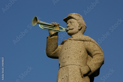 granite civil war bugler