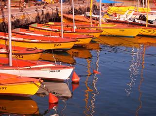 old jaffa port - boating station.