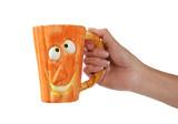 pumpkin mug poster