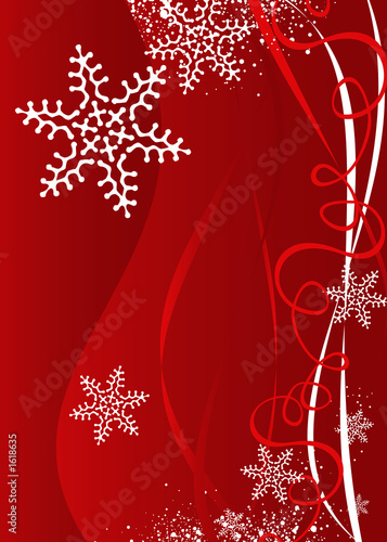 canvas print picture christmas / new year  background illustration