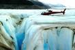 alaskan glacier crevasse