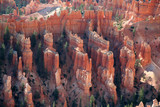 unique rock formations at bryce canyon poster