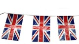 banner. uk flag. flag of united kingdom poster