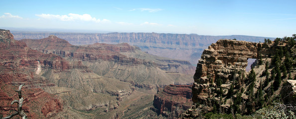 grand canyon arch panoramic