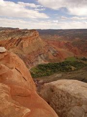 capitol reef national park overlook