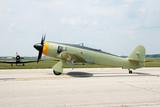 world war era hawker sea fury airplane poster