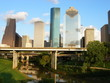 downtown houston and bayou