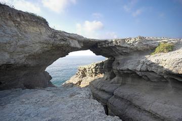 puente natural de piedra