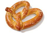 soft pretzel poster