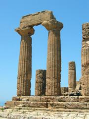 rovine del tempio greco