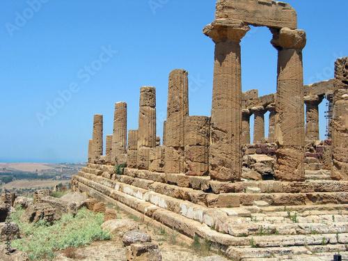 rovine di tempio greco
