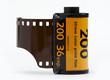 Leinwanddruck Bild - 35mm camera film