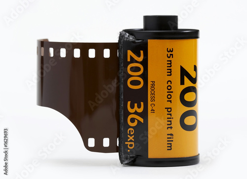 Leinwanddruck Bild 35mm camera film
