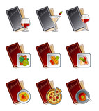 design elements 47c. menu icons set poster