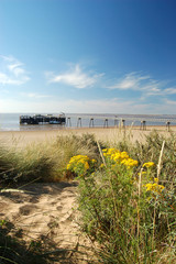 pier at spurn point