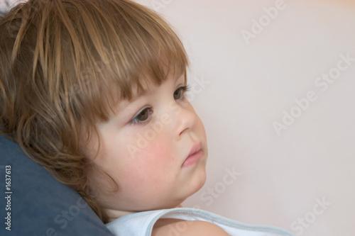thoughtful child