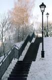 winter scenery poster