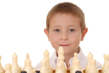 chess boy one