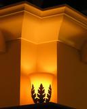 design detail glowing lamp poster