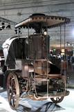 steam engine car poster