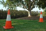 rubber traffic cone poster