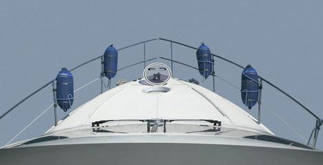 yacht isolated