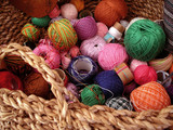 assorted yarn poster