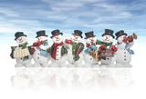 Fototapety snowmen