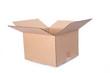 Leinwandbild Motiv empty box