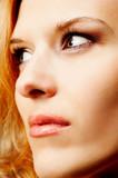 redhead closeup poster