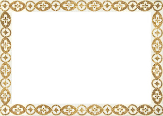 gold frame
