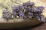 dried lavender bunch poster