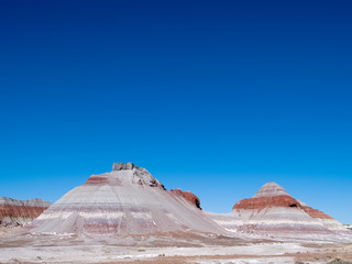 painted desert teepee area