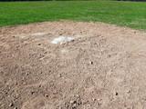 baseball - second base poster
