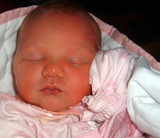 sleeping newborn poster
