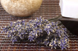 lavender bunch. aromatherapy poster