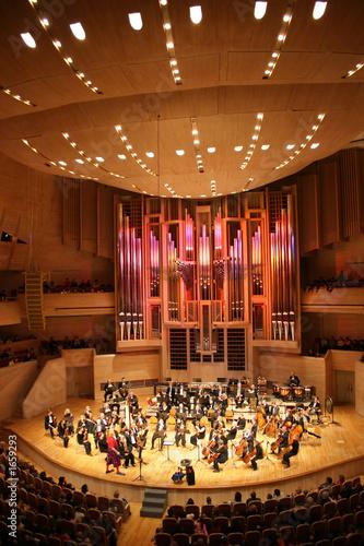 Leinwanddruck Bild symphony orchestra 3