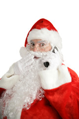 santa cellphone surprise