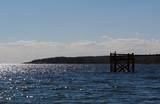 gloucester peninsula with dock poster