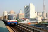 bangkok skytrain poster