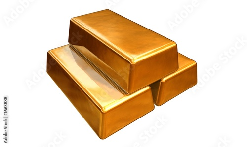 ingot gold bars