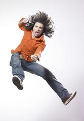homme saut