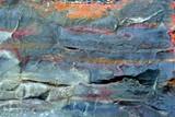 geologic stone. macro poster