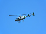 bell 206 helicopter poster