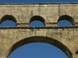 détail du pont du gard poster