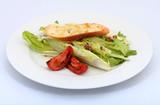 salad snack poster