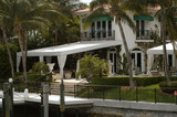 luxurious mansion in miami beach, florida, u.s.a poster