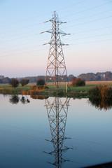 reflecting power pylon